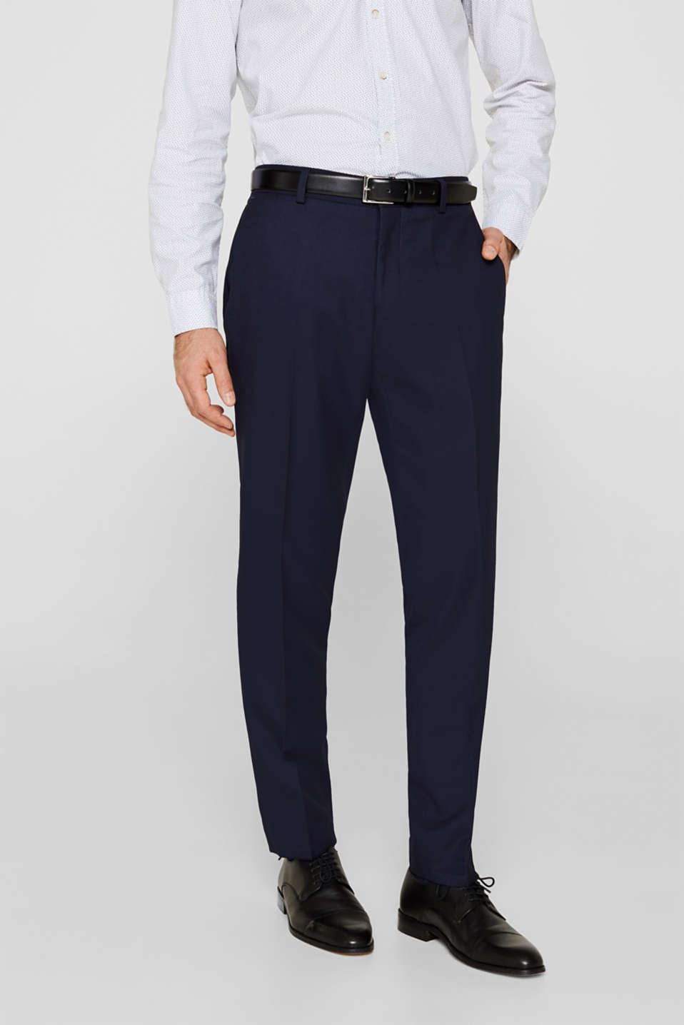BLUE DINNER JACKET Mix + Match: Trousers with side stripes, NAVY, detail image number 0