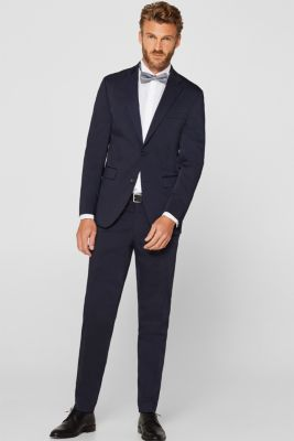 Dinner jacket made of 100% cotton, WHITE, detail