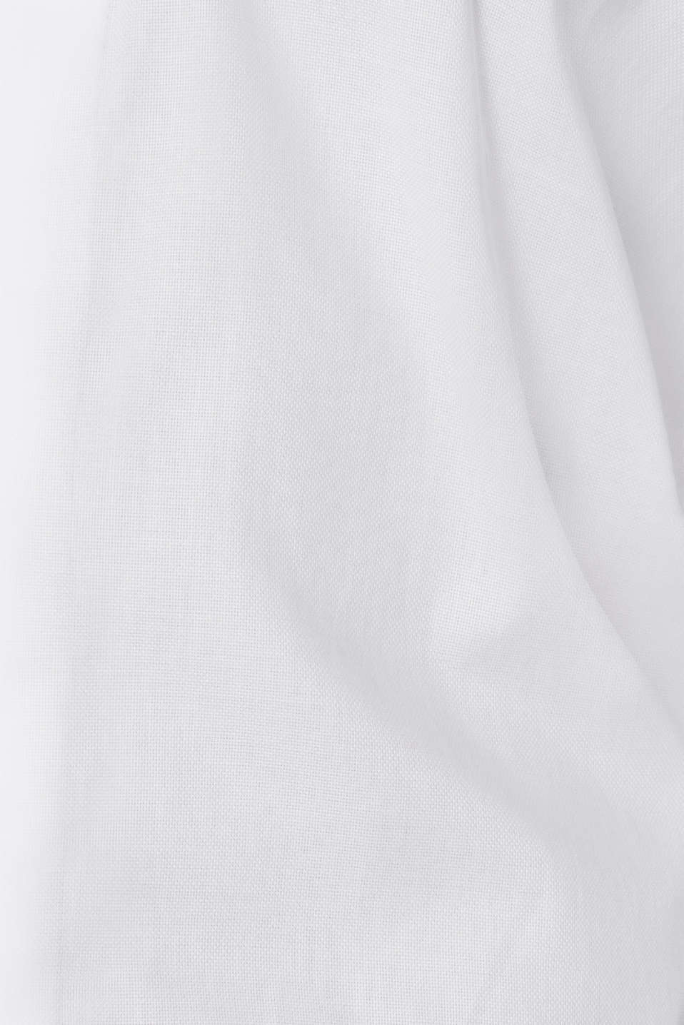 Dinner jacket made of 100% cotton, WHITE, detail image number 4