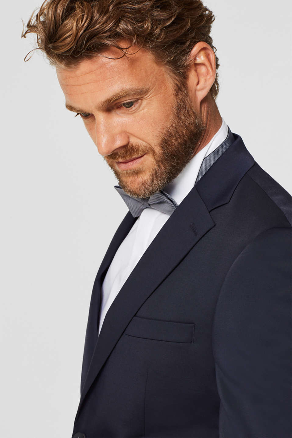 Dinner jacket made of 100% cotton, WHITE, detail image number 6