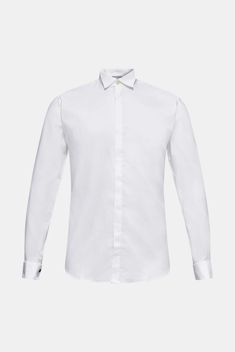 Dinner jacket made of 100% cotton, WHITE, detail image number 7