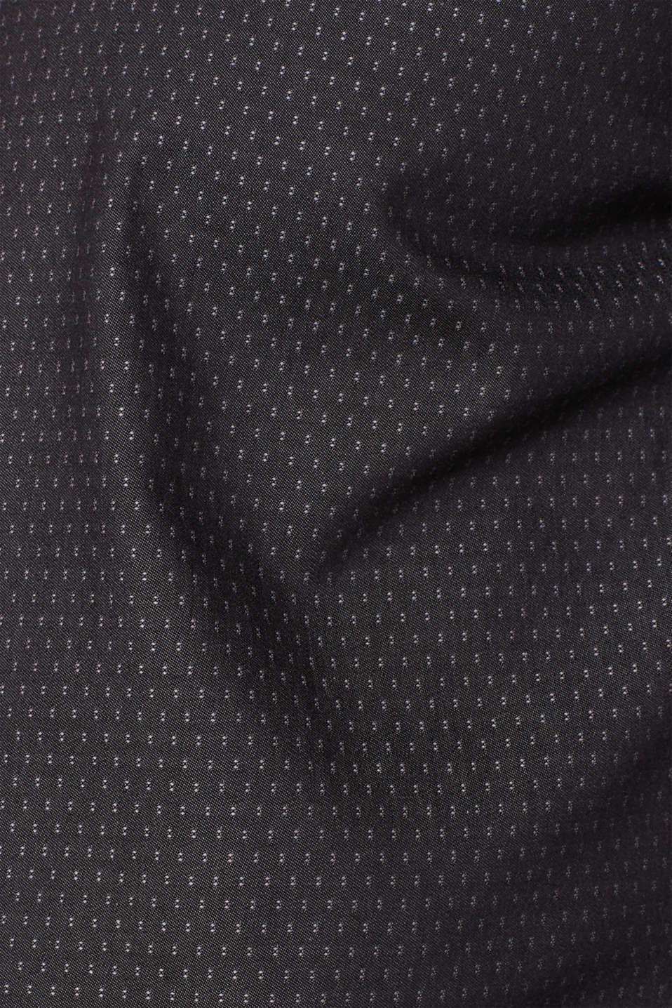 Easy-iron shirt in 100% cotton, ANTHRACITE, detail image number 4