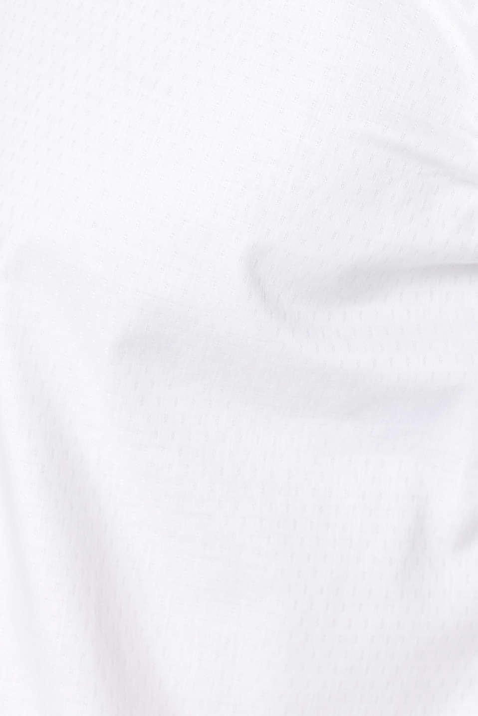 Easy-iron shirt in 100% cotton, WHITE, detail image number 3