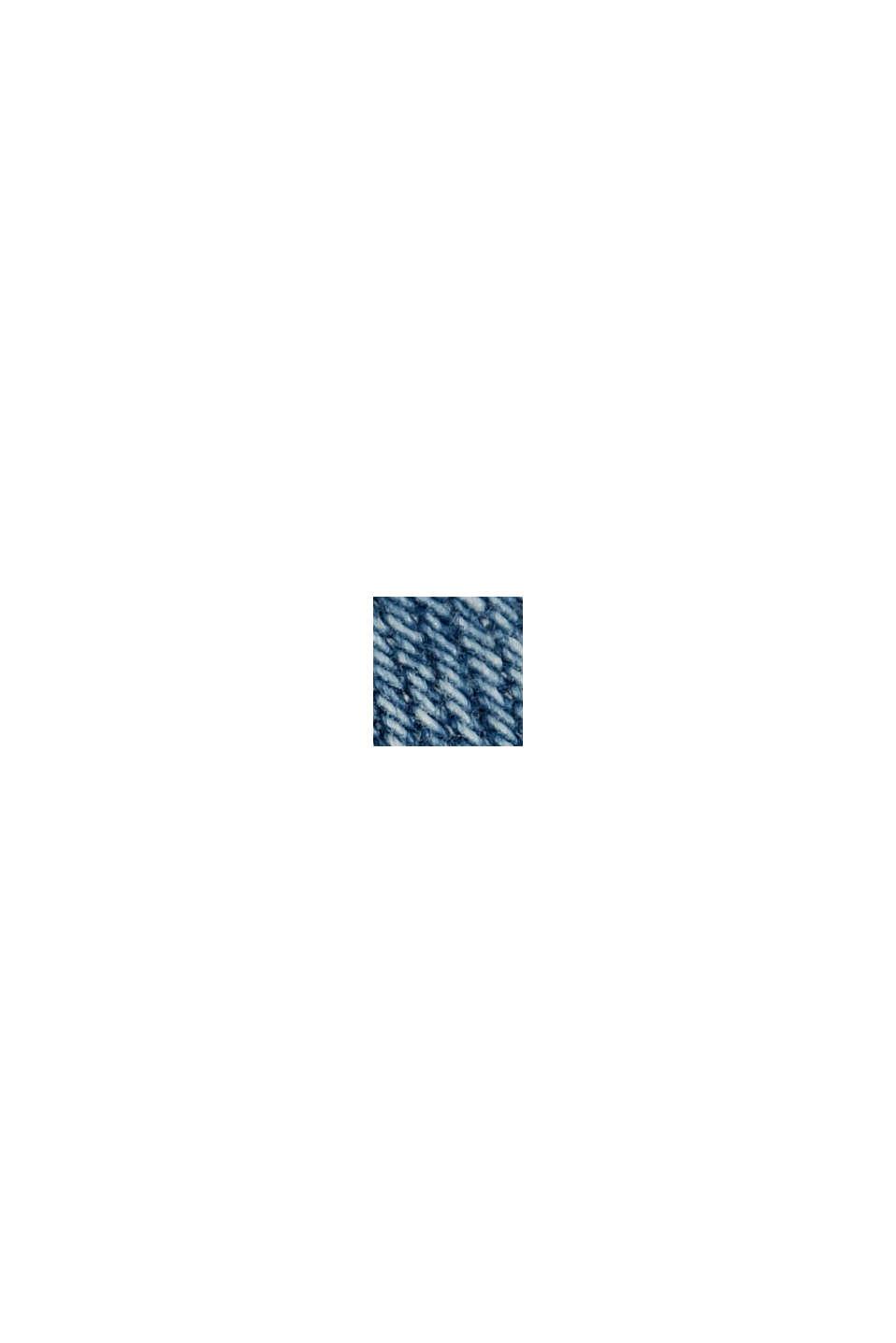 Jeans-Rock mit Organic Cotton, BLUE MEDIUM WASHED, swatch