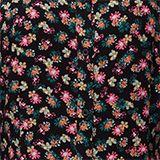 Hemdblusenkleid mit Blumen-Print, BLACK, swatch
