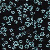 Overhemdjurk met bloemenprint, NEW BLACK, swatch