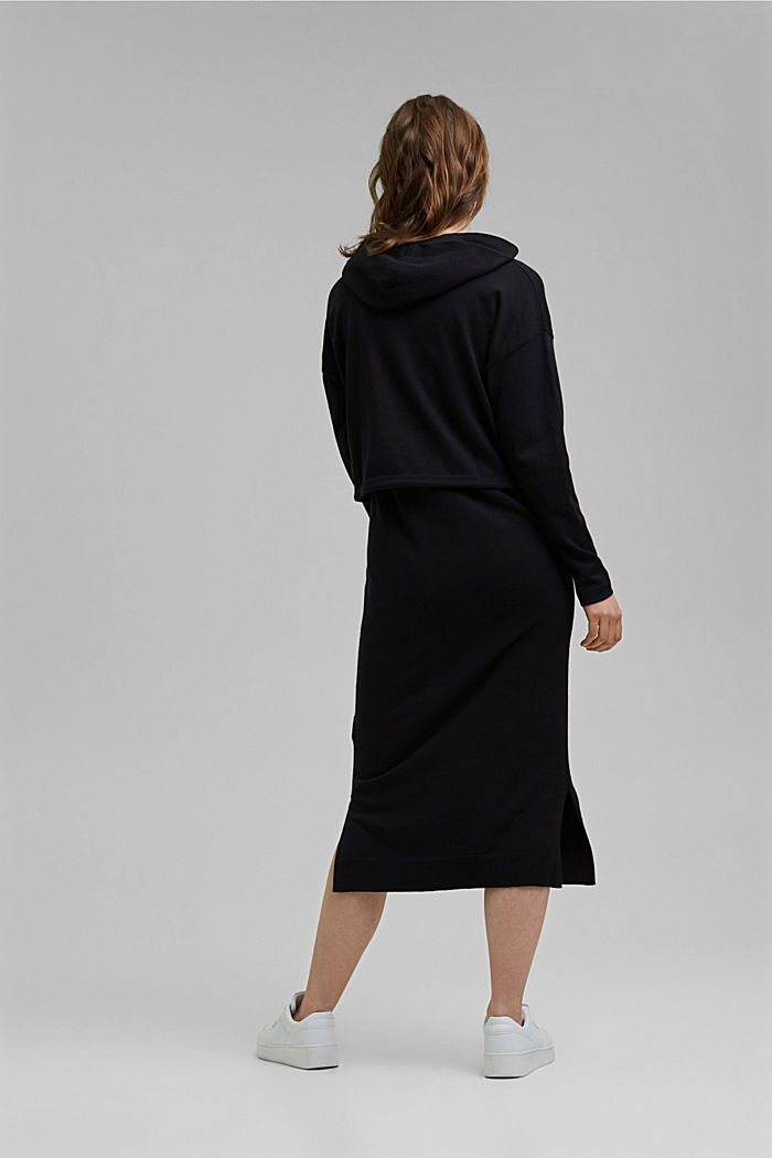 2-in-1: dress with organic cotton, BLACK, detail image number 1