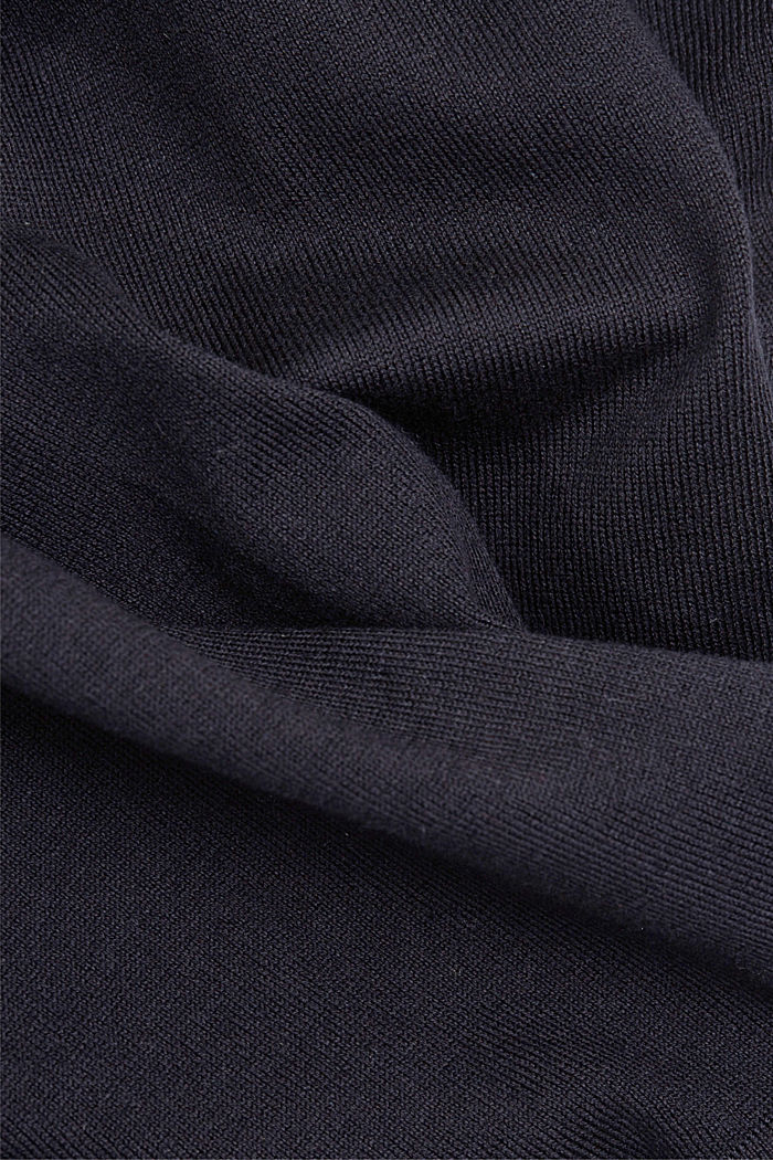2-in-1: dress with organic cotton, BLACK, detail image number 3