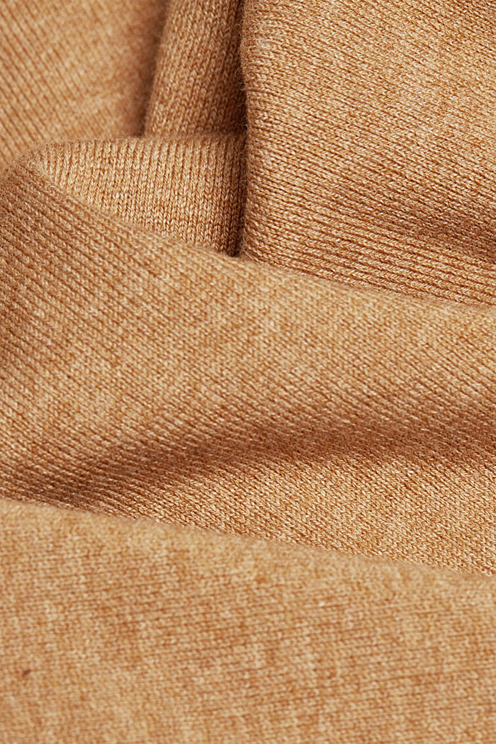 2-in-1: Kleid mit Organic Cotton, CARAMEL, detail image number 4
