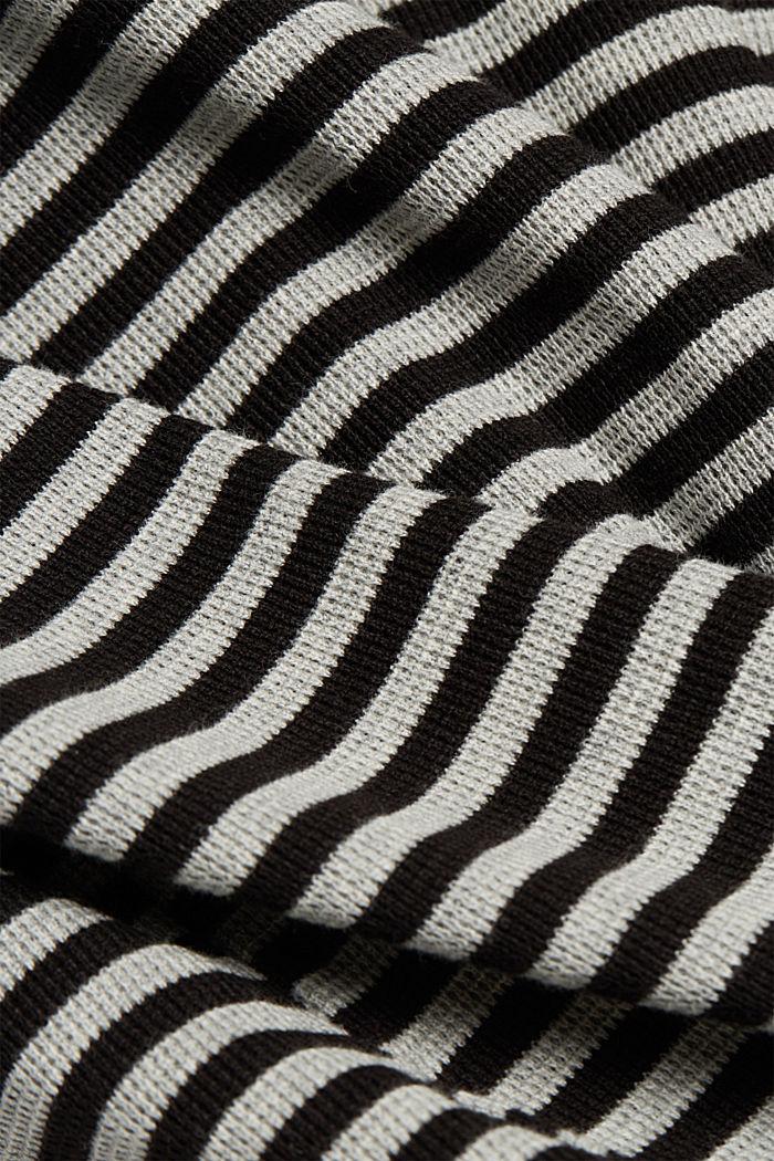 Jerseymekko 100 % luomupuuvillaa, BLACK, detail image number 4