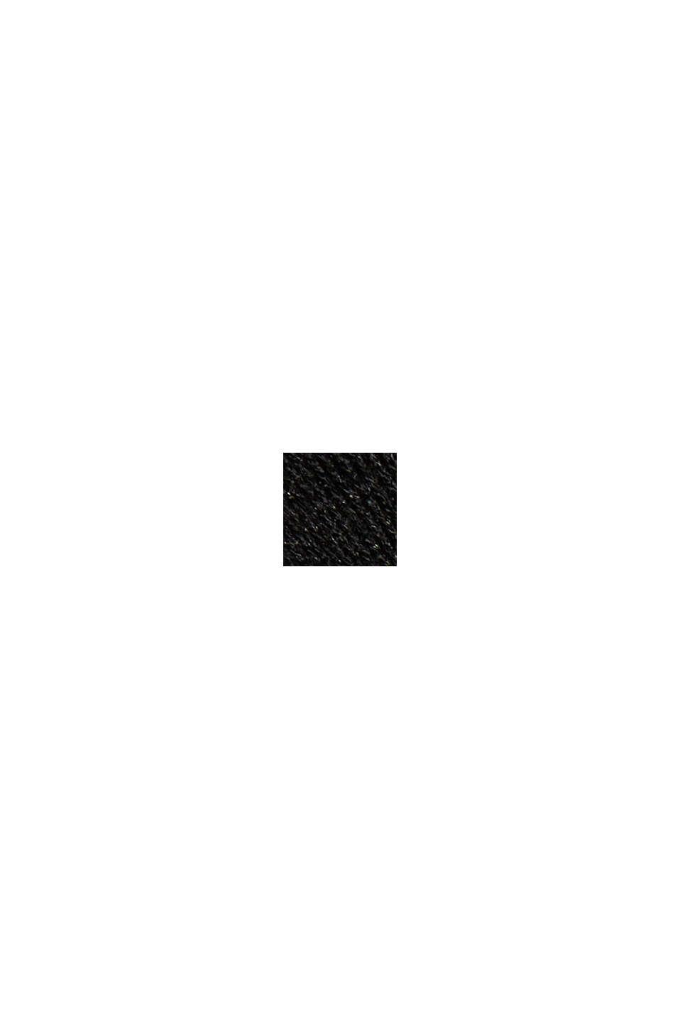 Jerseymekko, jossa LENZING™ ECOVERO™ -materiaalia, BLACK, swatch