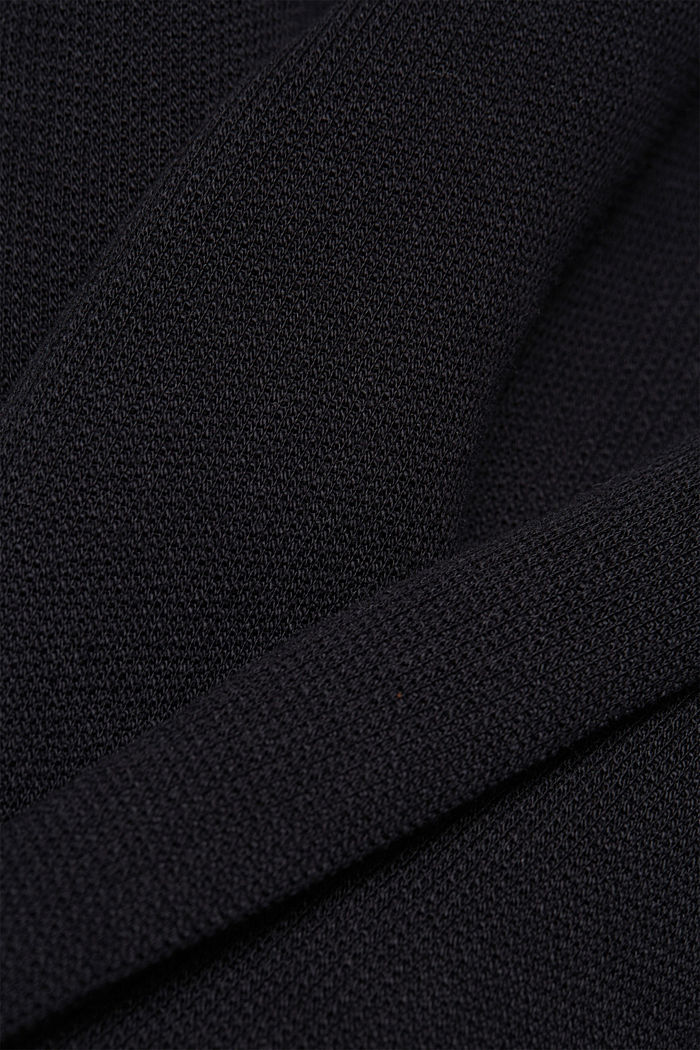 Jersey-Kleid mit Organic Cotton, BLACK, detail image number 4