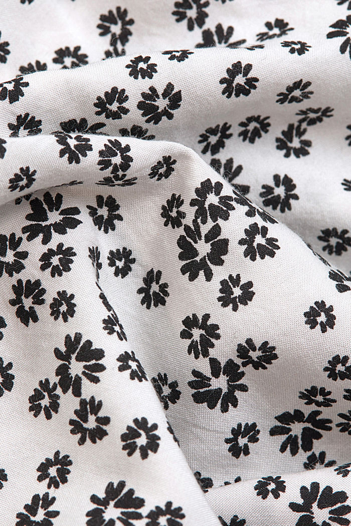 Print blouse with LENZING™ ECOVERO™, OFF WHITE, detail image number 4