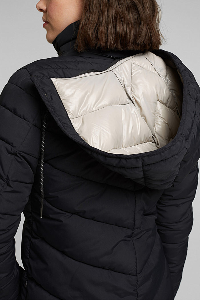 Recycled: 3M™ Thinsulate™ jacket, BLACK, detail image number 2