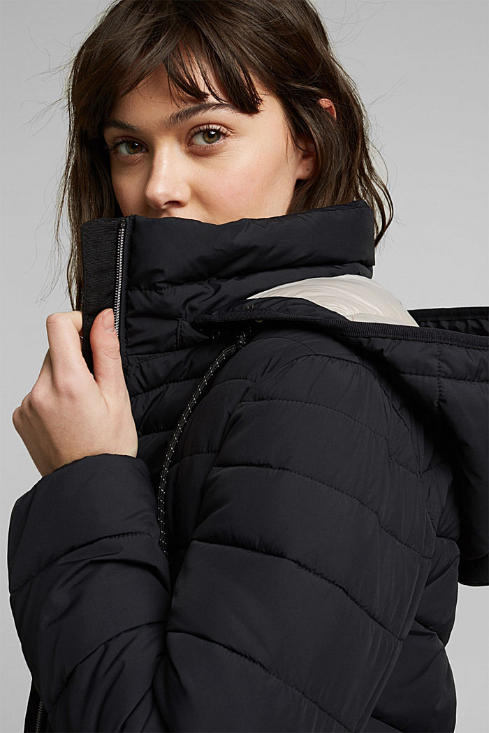 Recycelt: 3M™ Thinsulate™ Jacke, BLACK, detail image number 5