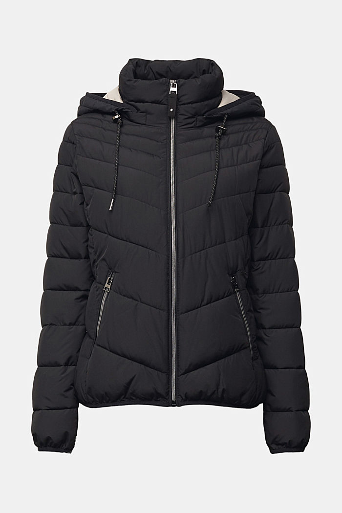 Recycled: 3M™ Thinsulate™ jacket, BLACK, detail image number 6