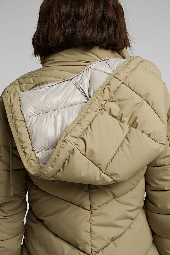Recycled: 3M™ Thinsulate™ jacket, LIGHT KHAKI, detail image number 2