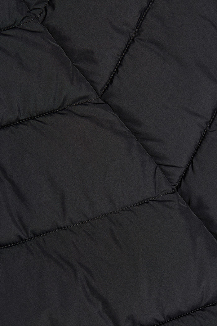Recycled: Coat with 3M™ Thinsulate™ filling, BLACK, detail image number 4
