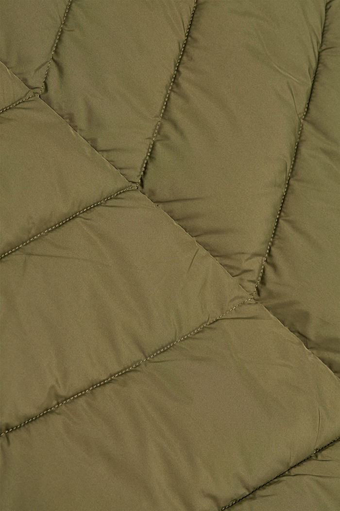 Recycled: Coat with 3M™ Thinsulate™ filling, KHAKI GREEN, detail image number 4