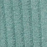 Wool blend: rib knit jumper, DUSTY GREEN, swatch