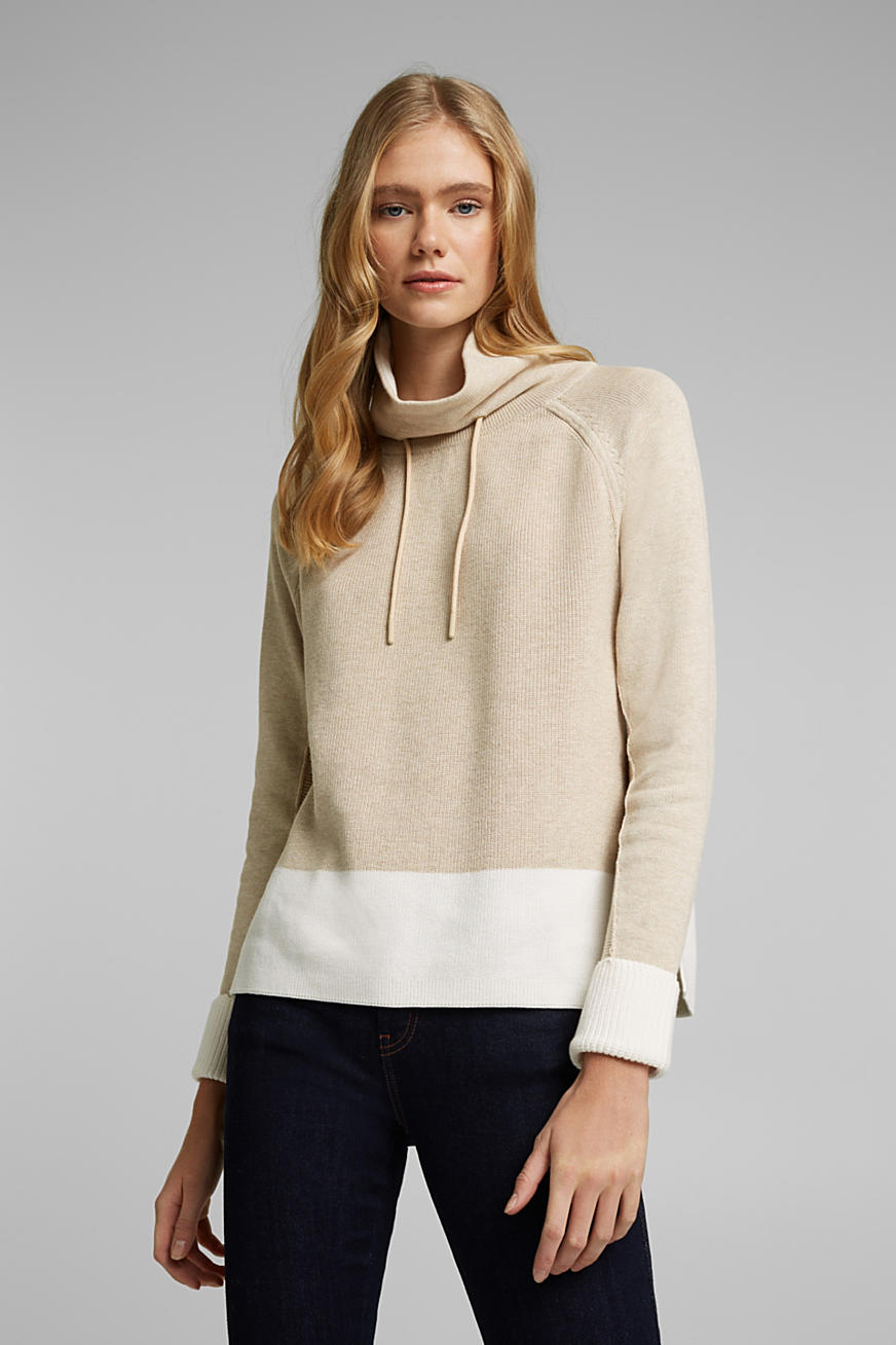 Pull-over 100 % coton biologique