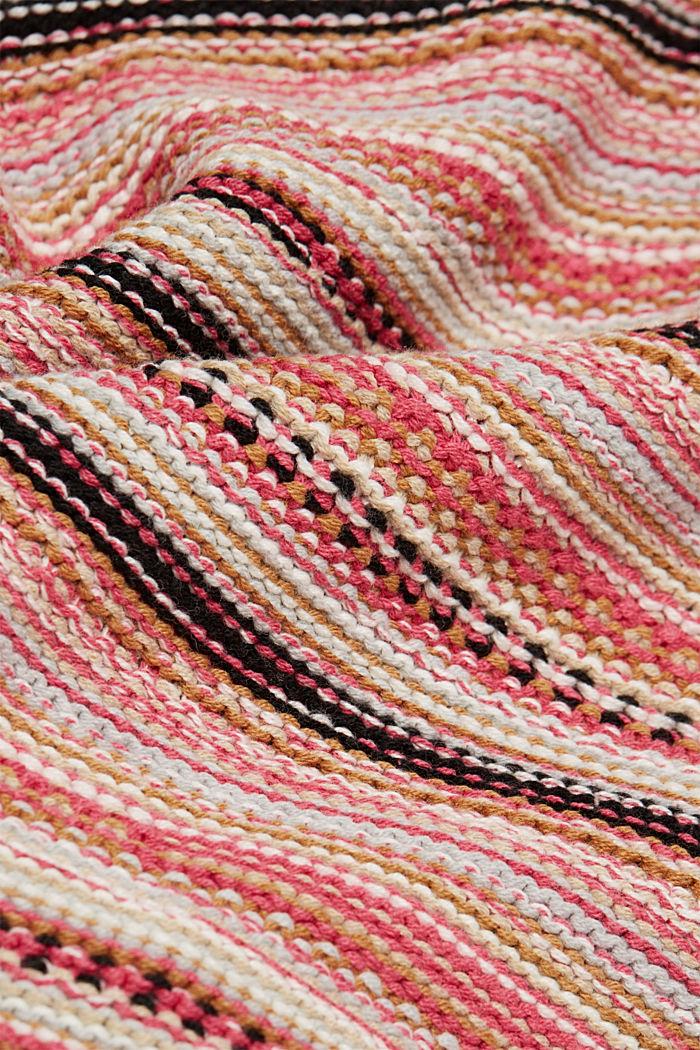 Struktur-Pullover mit Organic Cotton, BLUSH, detail image number 4