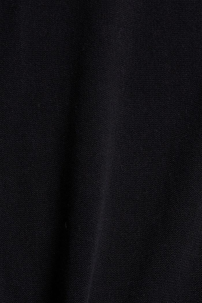 Sweatshirt-Pullover, 100% Organic Cotton, BLACK, detail image number 4