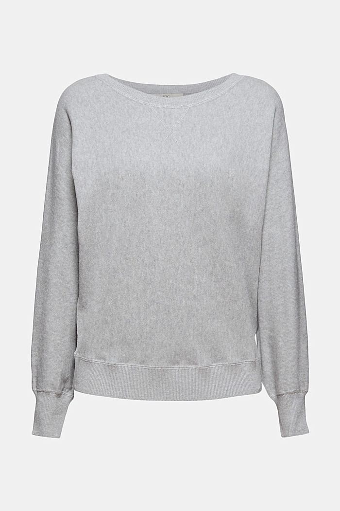 Pull-over sweat-shirt, 100% coton biologique