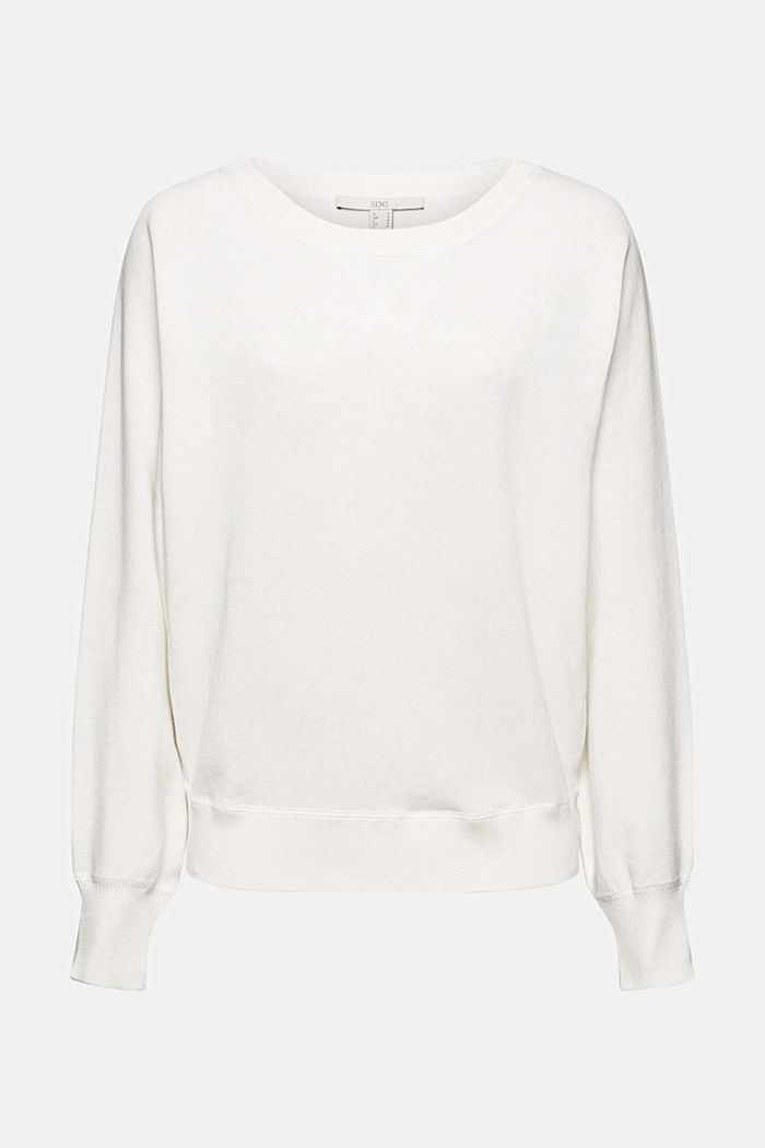 Pull-over sweat-shirt, 100 % coton biologique