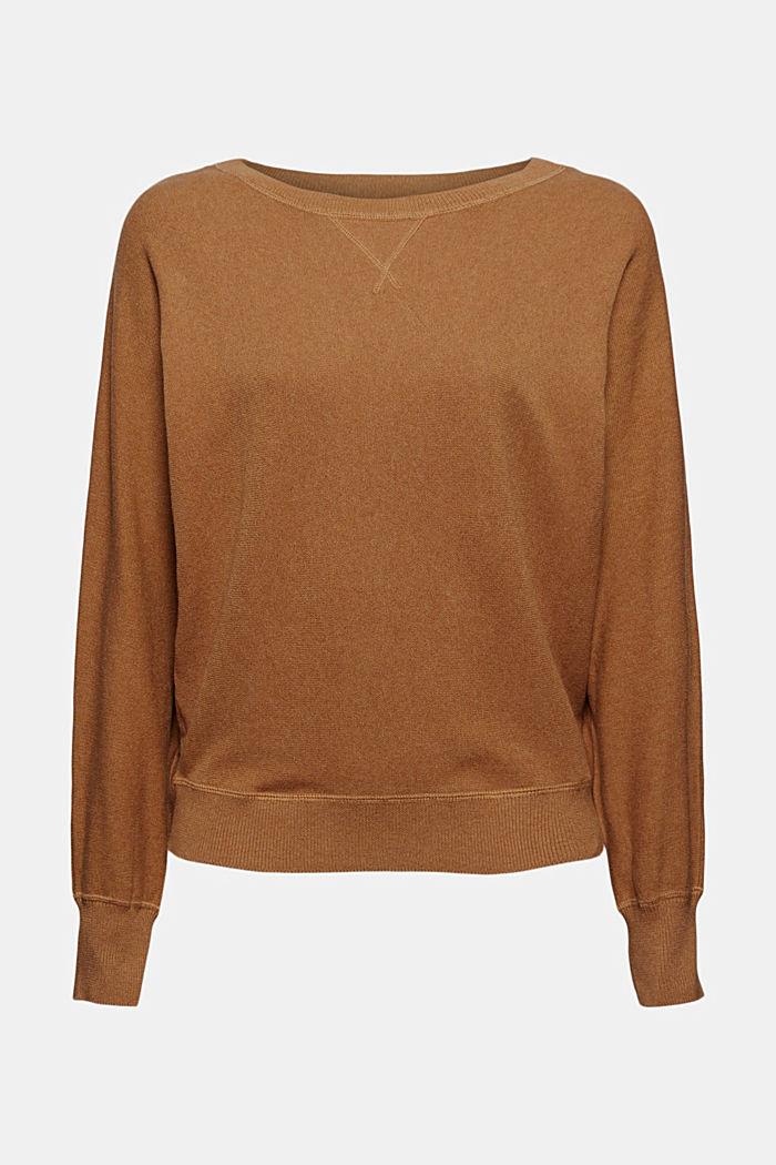 Sweatshirt-Pullover, 100% Organic Cotton
