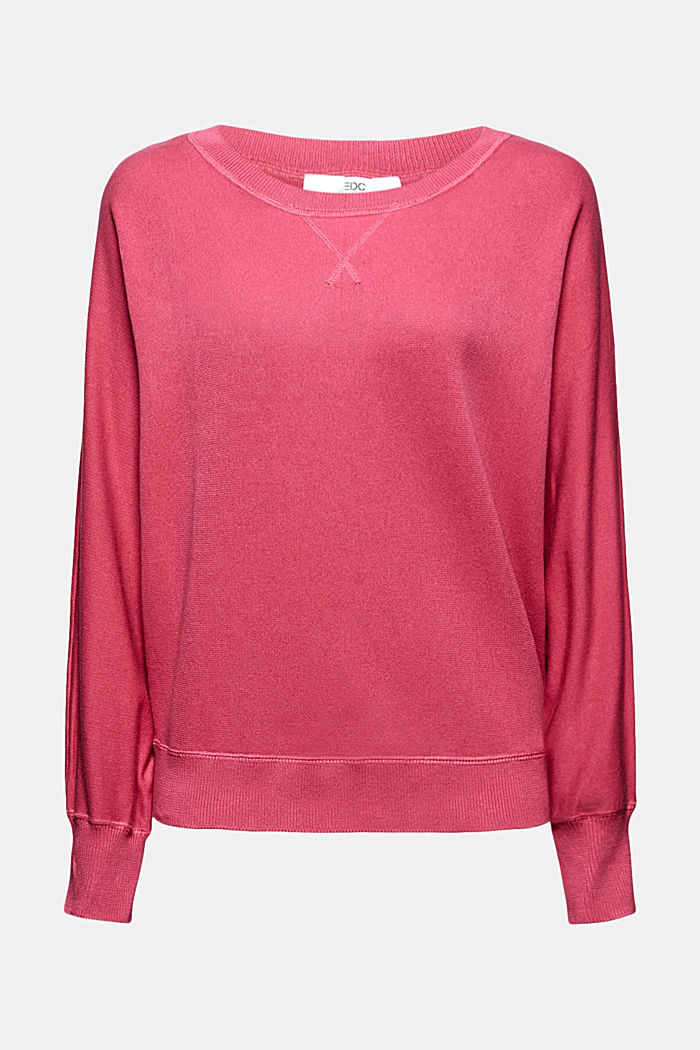 Sweatshirt jumper, 100% organic cotton, BLUSH, detail image number 6