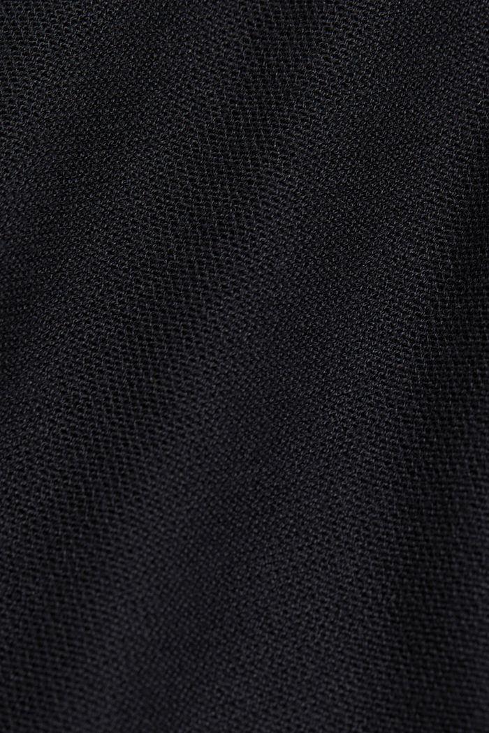 Open cardigan made of 100% organic cotton, BLACK, detail image number 4