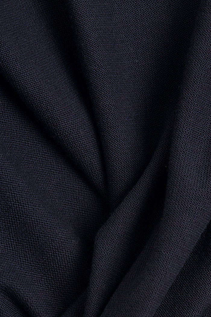 Open cardigan made of 100% organic cotton, NAVY, detail image number 4