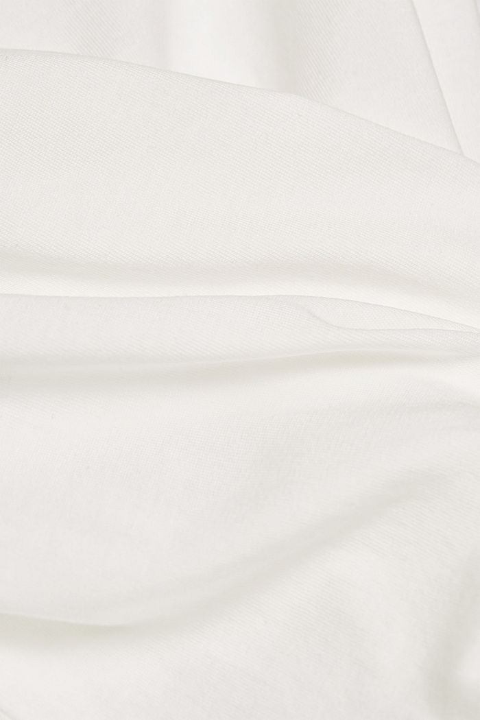 Long sleeve top made of 100% organic cotton, OFF WHITE, detail image number 4