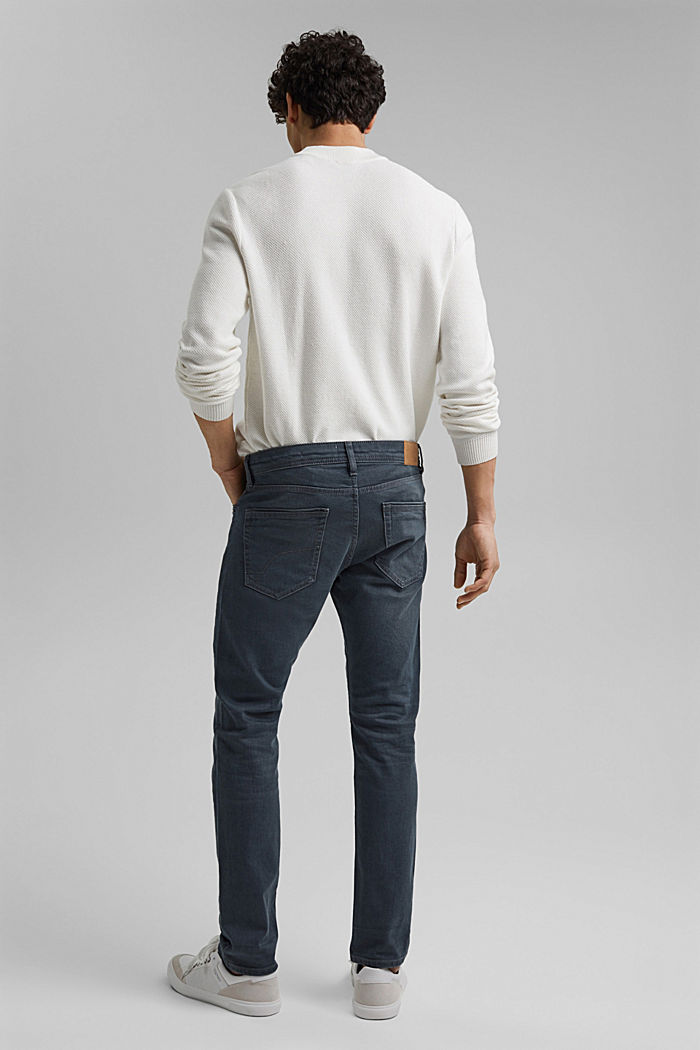 Stretch-Jeans mit Organic Cotton, BLUE GREY DARK WASHED, detail image number 1