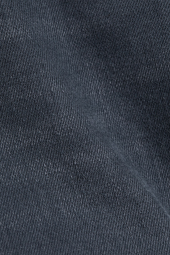 Stretch-Jeans mit Organic Cotton, BLUE GREY DARK WASHED, detail image number 4