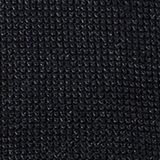 Textured jumper made of 100% organic cotton, BLACK, swatch