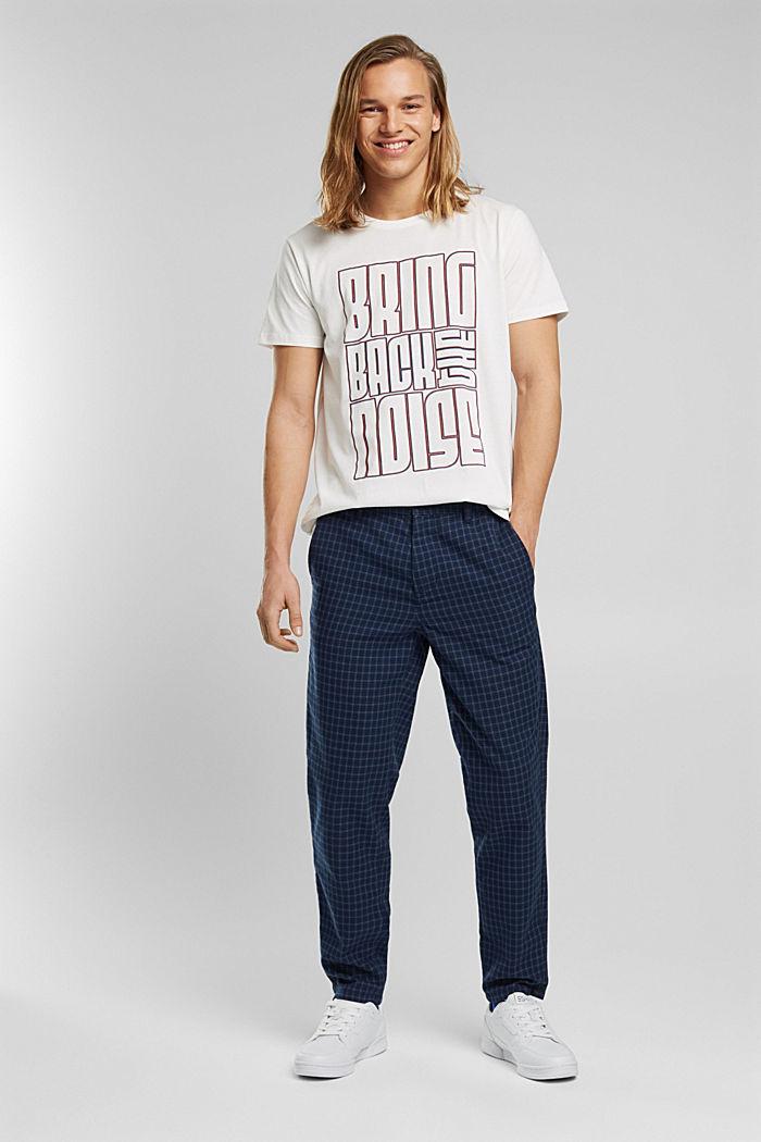 Jersey-T-Shirt aus 100% Bio-Baumwolle, OFF WHITE, detail image number 2