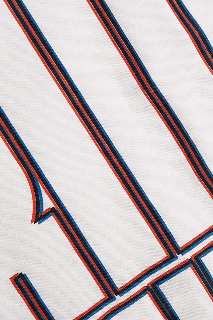 Jersey-T-Shirt aus 100% Bio-Baumwolle, OFF WHITE, detail image number 4