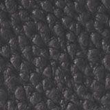 Vegan: Faux leather saddle bag, BLACK, swatch