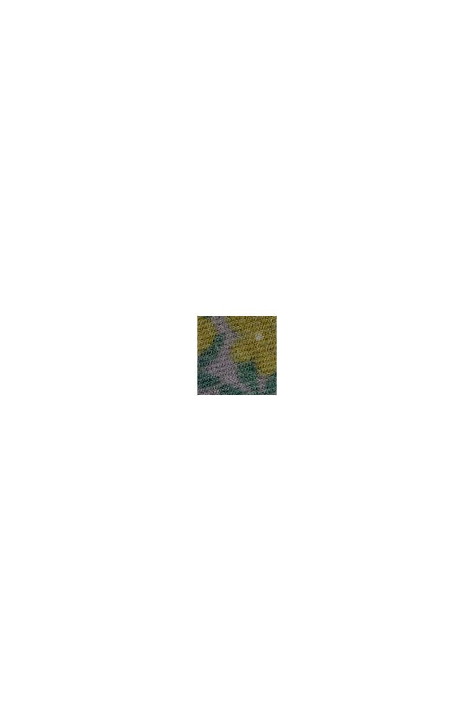 Recycelt: Web-Schal mit Mustermix, DARK GREEN, swatch