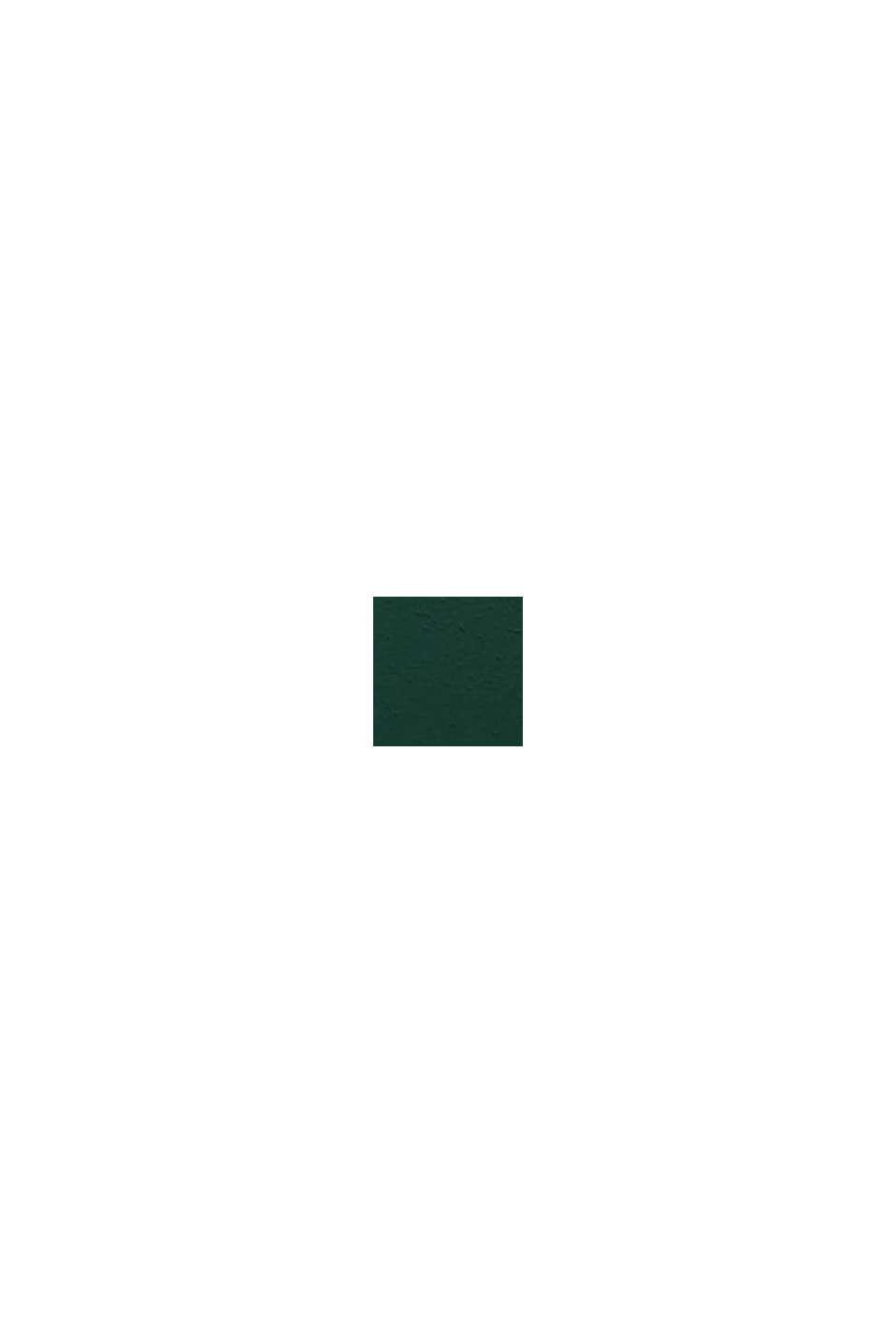 Schmaler Gürtel aus Leder, DARK GREEN, swatch
