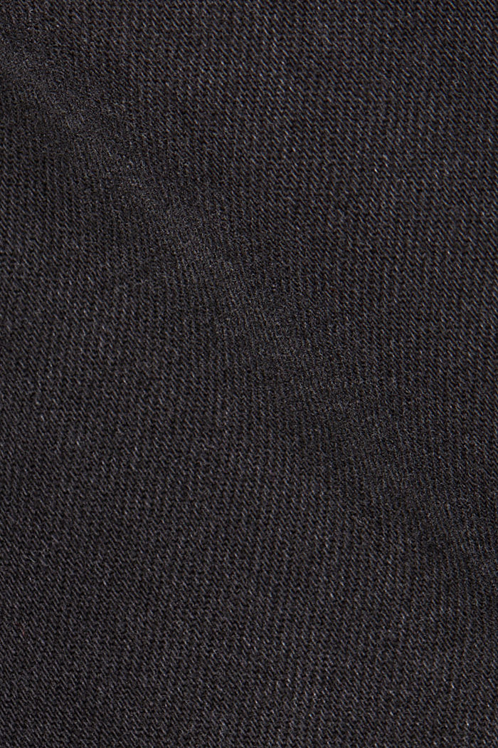MODERN STRAIGHT jeans made of organic cotton, BLACK DARK WASHED, detail image number 4