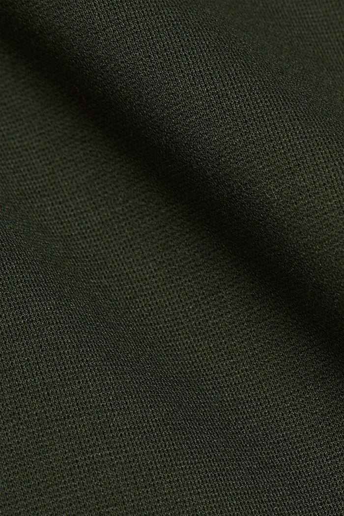 Punto jersey chinos, KHAKI GREEN, detail image number 4