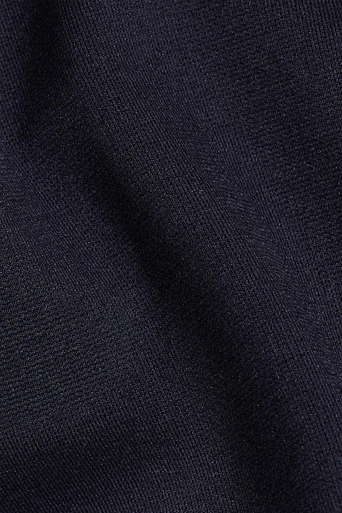 Punto jersey chinos, NAVY, detail image number 4