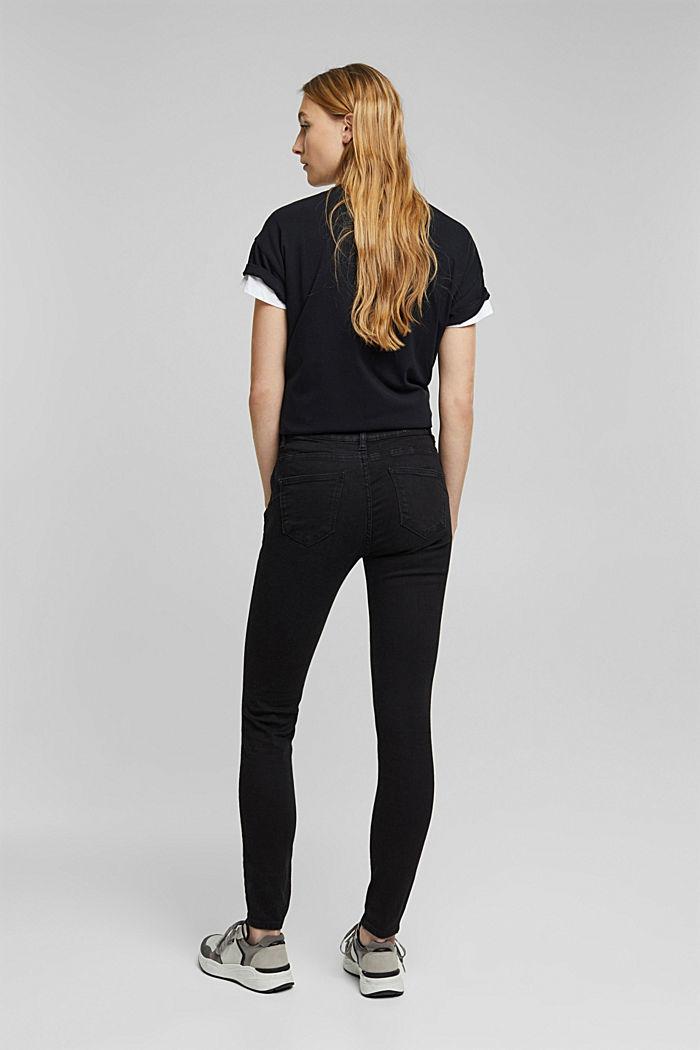 Shaping jeans met biologisch katoen, BLACK RINSE, detail image number 3