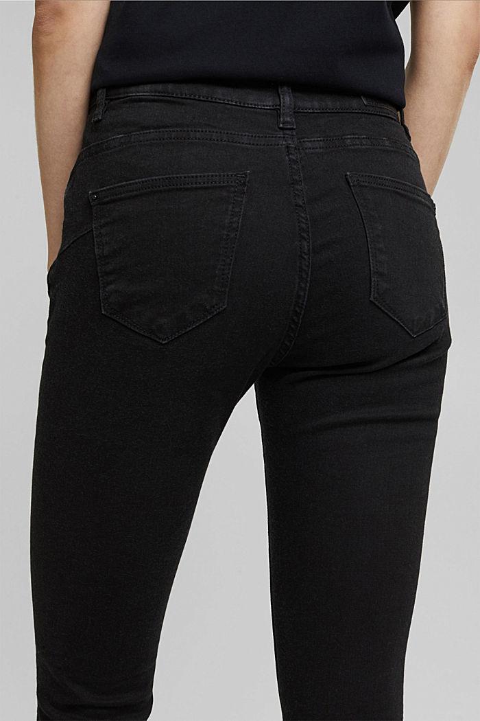 Shaping-Jeans mit Organic Cotton, BLACK RINSE, detail image number 2