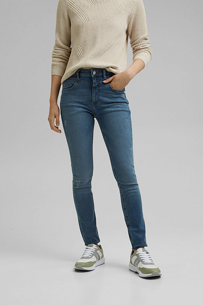 Recycled: Shaping jeans made of organic cotton