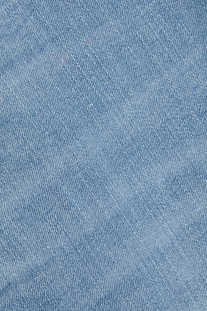 Gerecycled: shaping jeans met biologisch katoen, BLUE LIGHT WASHED, detail image number 4