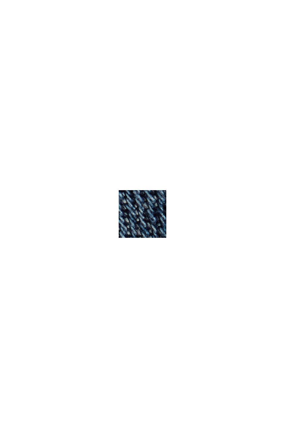 Vaqueros elásticos con efecto desgastado, BLUE DARK WASHED, swatch